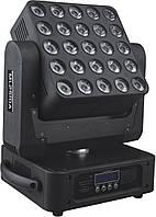 Светодиодная вращающаяся голова POWER light MATRIX ML-2510A (RGBW)