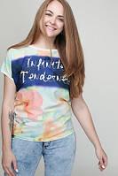 Женская футболка Орхидея 628