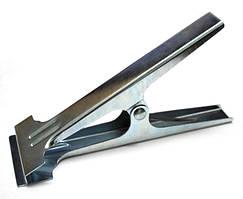 Зажим-прищепка для ткани металлическая 02226