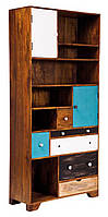 Открытый шкаф из массива дерева 011