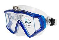 Маска с креплением для GoPro Marlin Big Panoramic Blue, фото 1