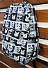 Молодежный рюкзак Стильные котики, фото 3