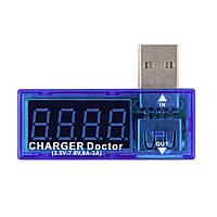 Usb тестер 7V3A (вольтметр DC 7В + амперметр 3A)  Usb Charge Doctor , фото 1