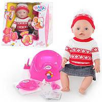 Интерактивная кукла-пупс BABY Born 8001-M (в коробке)