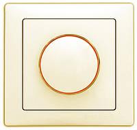 Выключатель DELUX WEGA 9101 диммер (реостатного типа) крем