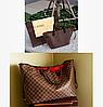 Сумка Louis Vuitton(луи витон) Большой размер закрывается на замок крючок как в оригинале