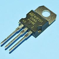 Транзистор STP14NK60Z -  мощный полевой высоковольтный TO220 (N; 600V; 13.5A; 160W; 0.5 Ohm)