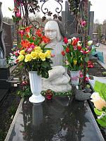 Скульптура девушки из мрамора № 12