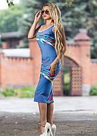 Платье-футляр летнее, фото 1