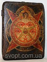 """Икона под старину """"Всевидящее око Божие"""""""