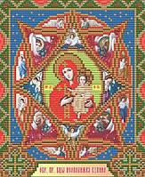 Икона Неопалимая Купина Образ Пресв. Богородицы. Набор алмазной техники
