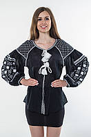 Блуза жіноча Зоряна ніч бавовна, фото 1