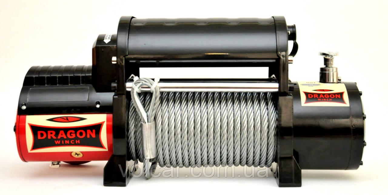 Лебедка автомобильная электрическая Dragon Winch DWM 12000 I HD