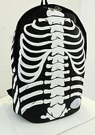 Школьный рюкзак с принтом скелета, фото 1