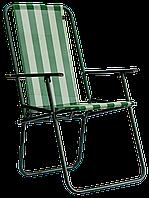 Кресло Time Eco Дачное 86.5*51*56.5см с чехлом, фото 1