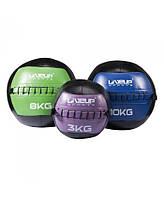 Мяч для кроссфита кожаный 3кг LS3073-3