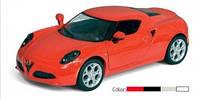 """Машина Kinsmart  """"Alfa Romeo 4C"""" KT5366W"""