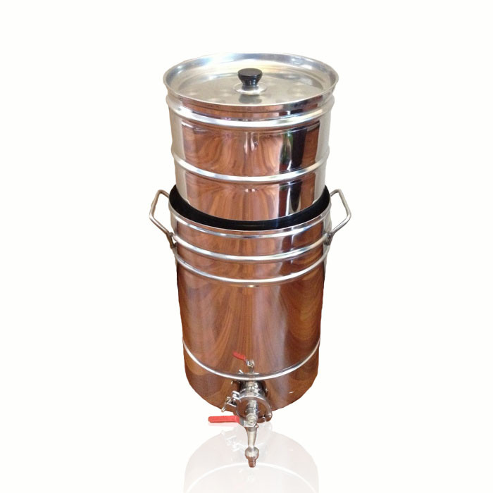 Пивоварка на 36 литров с бункером для солода - Интернет-магазин домашнего пивоварения и виноделия Homebrewery Shop в Харькове