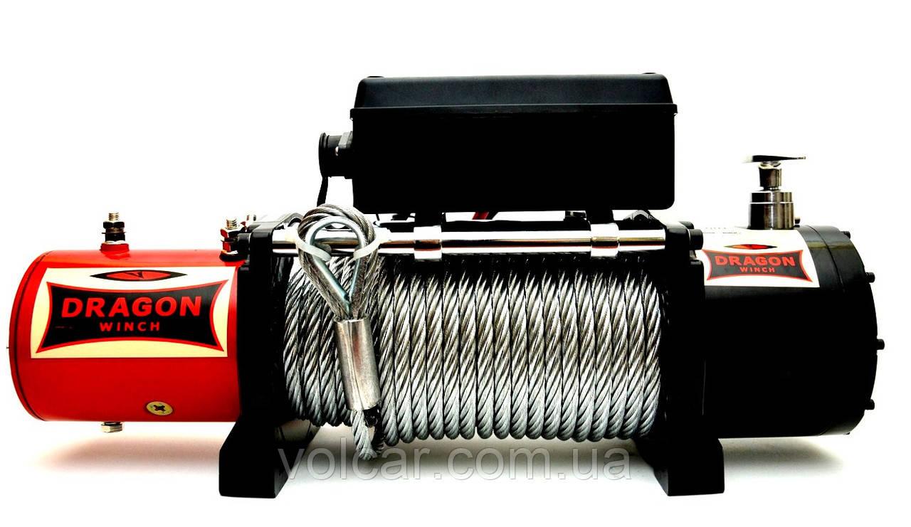Лебедка электрическая автомобильная Dragon Winch DWM 12000HD (24B)