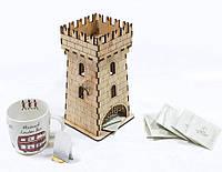 """Коробка для чайных пакетиков - Чайный домик """"Башня"""""""