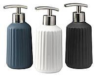 Дозатор жидкого мыла керамика (диспенсер механический)