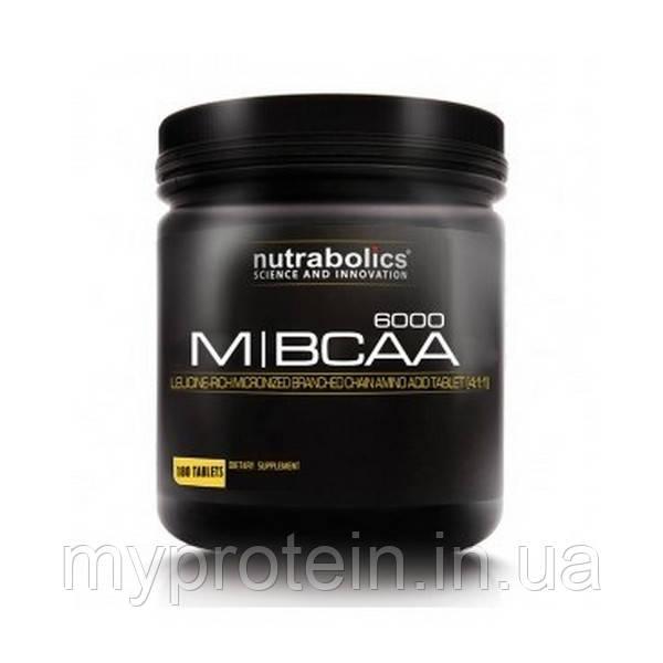 NutraBolics Бца M BCAA 6000 (180 tab)
