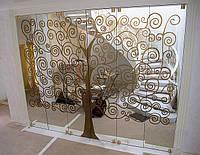 Изготовление зеркальных дверей под заказ. Киев, цена