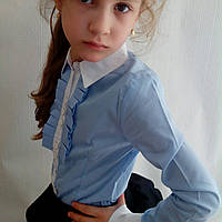 Блузка школьная для девочек