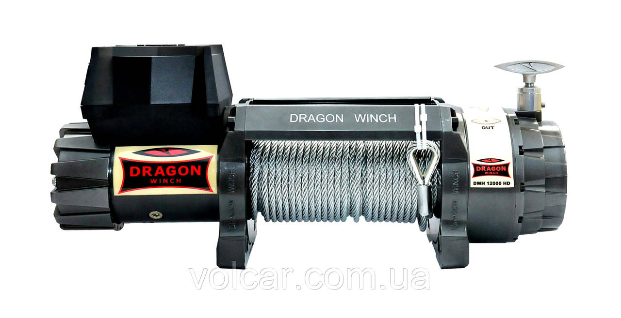 Лебедка электрическая автомобильная Dragon Winch DWH 12000 HD