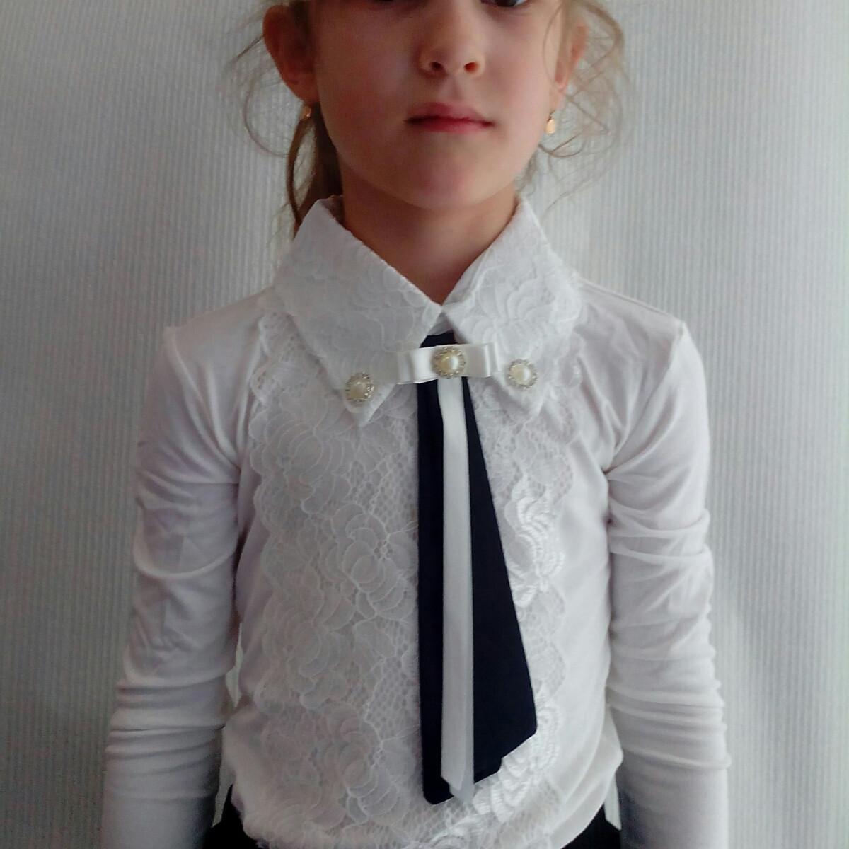 cb6354bfebd Блузка школьная для девочек   продажа