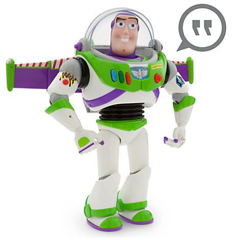 Базз Светик История игрушек интерактивный говорящий Дисней 30см Toy Story