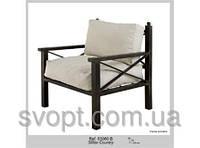 Кресло мягкое кованное 78x80