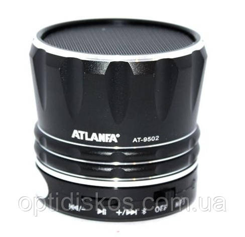 Bluetooth портативная колонка Atlanfa AT-9502 + FM+MP3, фото 2