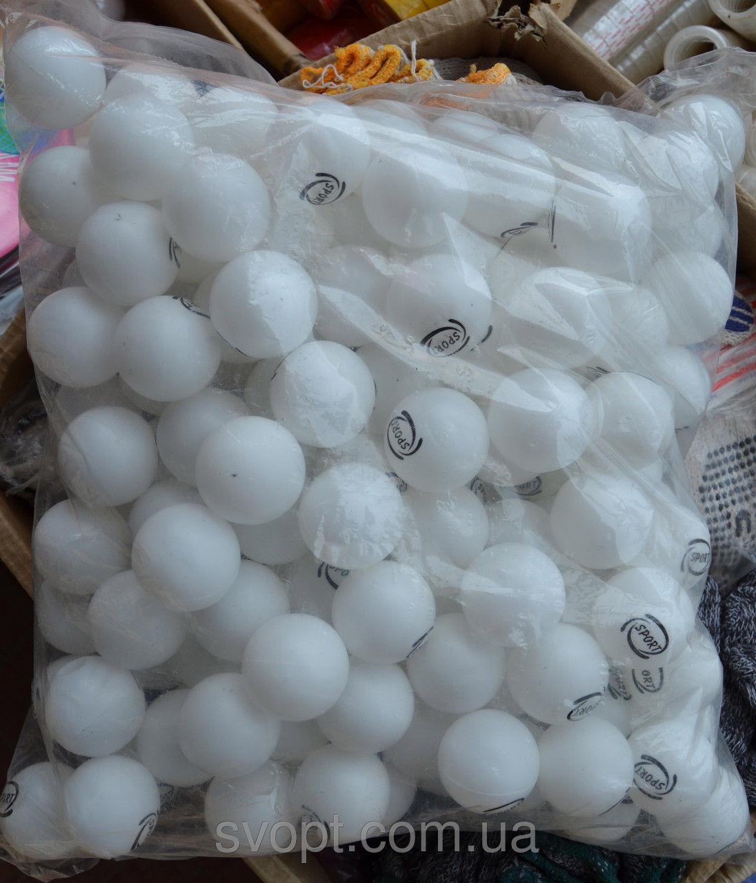Шарики для настольного тенниса 150 штук белые -  интернет-магазин «VAVILON».  в Одессе