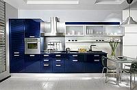 Изготовление прямых кухонь