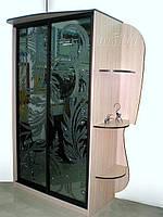 Шкаф-купе со стразами киев