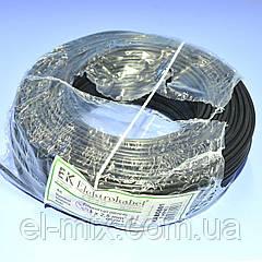 Провід монтажний мідний LgY  1*2,5мм.кв H07V-K  Elektrokabel чорний  KAB0881  / бухта 100м