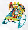 Кресло-качалка 3в1 с вибрацией, Фишер Прайс, Fisher-Price Infant to Toddler Rocker Safari, Оригинал из США