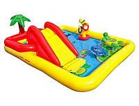Игровой центр-бассейн Океан Intex 254х196х79 см.