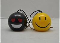 Музыкальная колонка MyVibe Boom Smile, портативная mp3 колонка смайлик, myvibe колонка