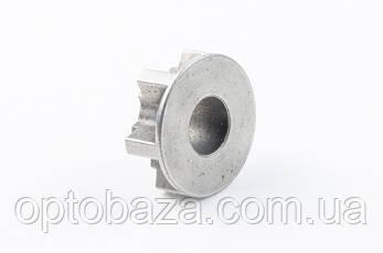 Звездочка (6 зацепов с тарелкой) для элекртопилы Фиолент ПЦ2-400Э, фото 2