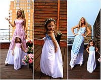 Комплект сарафанов для мамы и дочки мод.013
