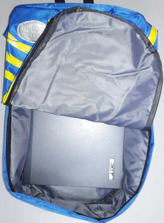 Вместительный рюкзак скелет