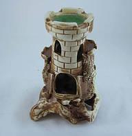 Кераміка для акваріума Вежа на скелі, 14х20 див., фото 1