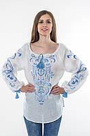 Блуза жіноча Трави льон