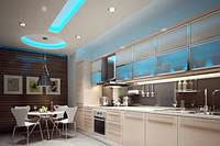 Изготовление кухонь с подсветкой