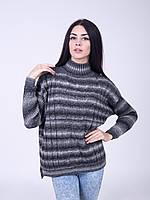 Стильный свитер с удлененной спинкой, фото 1
