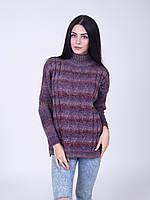 Вязанный молодежный свитер