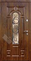 """Бронированные двери ТМ """"Саган"""" с Ковкой К-6"""