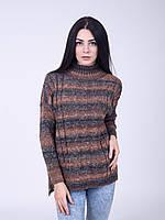 Теплый вязанный свитер от производителя, фото 1